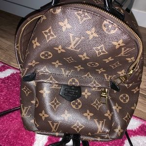 LV Palm Springs Mini Backpack